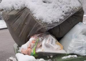Kumulacja śmieci w Rybniku